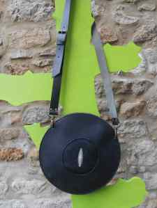 sac soucoupe noir